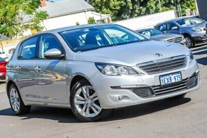 2015 Peugeot 308 T9 Active Grey 6 Speed Sports Automatic Hatchback Bayswater Bayswater Area Preview