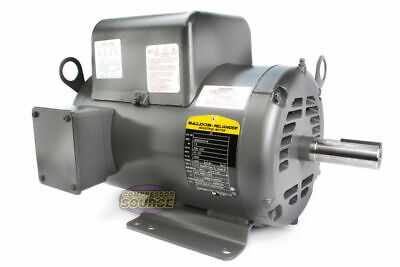 Baldor 7.5 Hp Electric Motor 3450 Rpm 184 T Frame 1 Ph Single Phase 208230 Volt