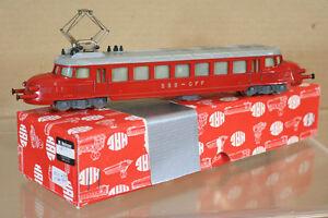 HAG-100-SBB-CFF-CLASE-RCe-2-4-E-LOK-Rojo-ARROW-Locomotoras-604-En-Caja-NL