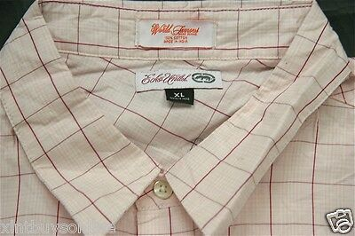 Ecko Unlimited Pink Check 100  Cotton  Xl