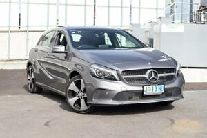 2016 Mercedes-Benz A-Class W176 806MY A200 DCT Grey 7 Speed Sports Automatic Dual Clutch Hatchback North Hobart Hobart City Preview