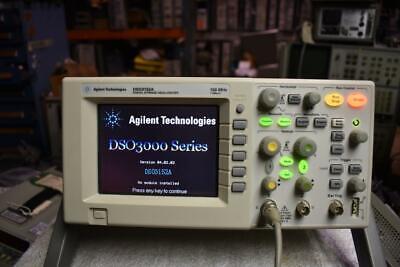 Agilent Dso3152a 150mhz Digital Oscilloscope 1gss