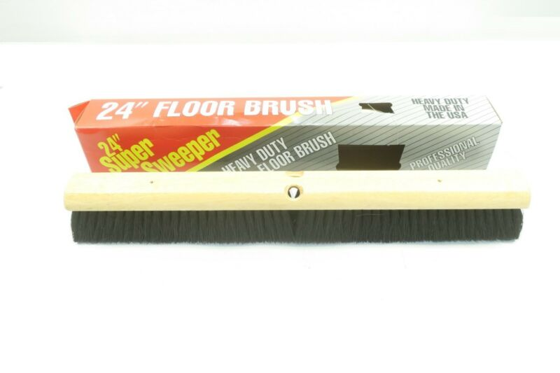 Super Sweeper Heavy Duty Floor Brush Head 24in