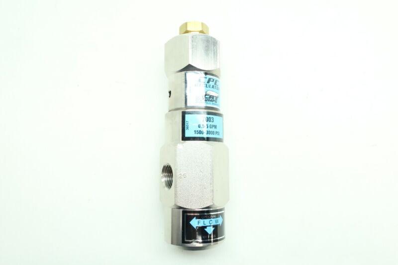 Cat Pumps 7003 Pressure Regulator 0.5-5gpm 3/8in Npt