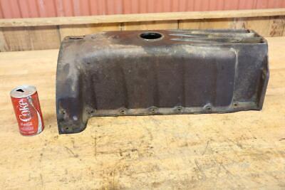 Vintage Ford 8n 9n 2n Tractor Parts Nice Oil Pan No Cracks Or Repairs