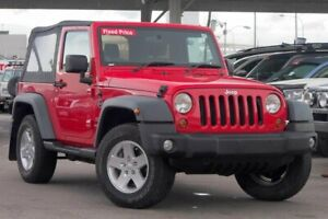 2011 Jeep Wrangler JK MY09 Sport (4x4) Red 6 Speed Manual Softtop