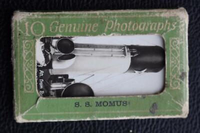 SOUTHERN PACIFIC STEAMSHIP CO SS MOMUS MINIATURE PHOTO SET AS PURCHASED ONBOARD, used for sale  Shipping to United States