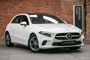 2020 Mercedes-Benz A-Class W177 800+050MY A180 DCT White 7 Speed Sports Automatic Dual Clutch