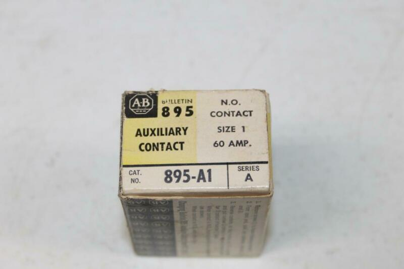 Allen Bradley A-B Auxiliary Contact  895-A1