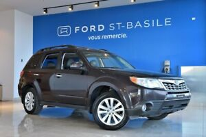 2013 Subaru Forester LIMITED+CUIR+TOIT PANO+++ 1 Owner. Never ac