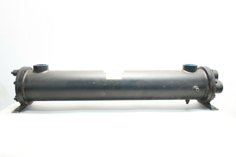Thermal Transfer C-1236-2.5-6-F-SS Shell Heat Exchanger 2in Npt