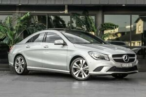 2013 Mercedes-Benz CLA-Class C117 CLA200 DCT Silver 7 Speed Sports Automatic Dual Clutch Coupe Bowen Hills Brisbane North East Preview
