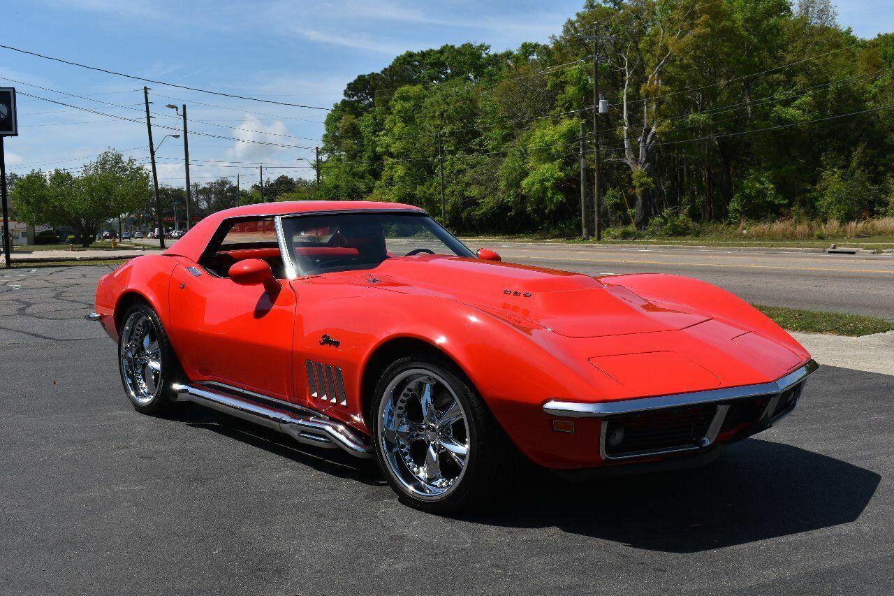 1969 Red Chevrolet Corvette   | C3 Corvette Photo 9