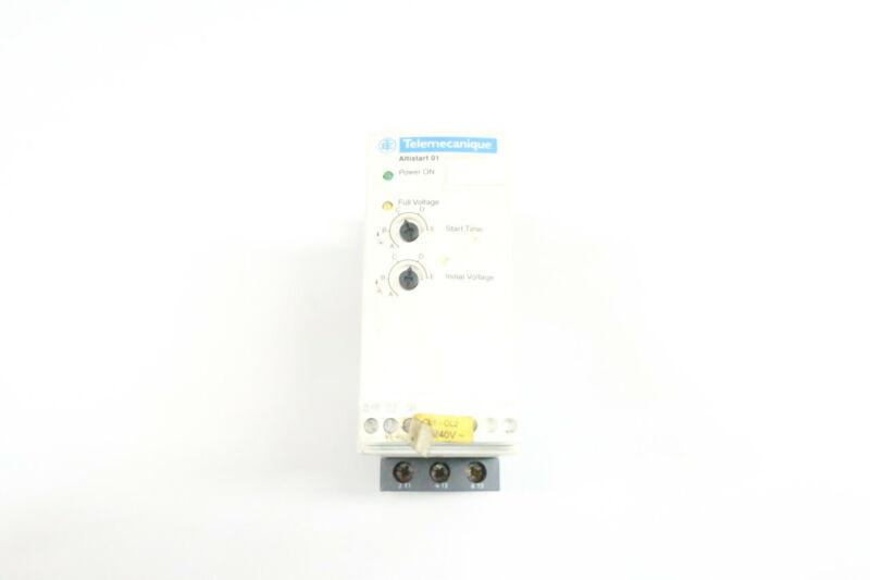 Telemecanique ATS01N125FT Altistart 01 Soft Starter 15hp 230/460v-ac