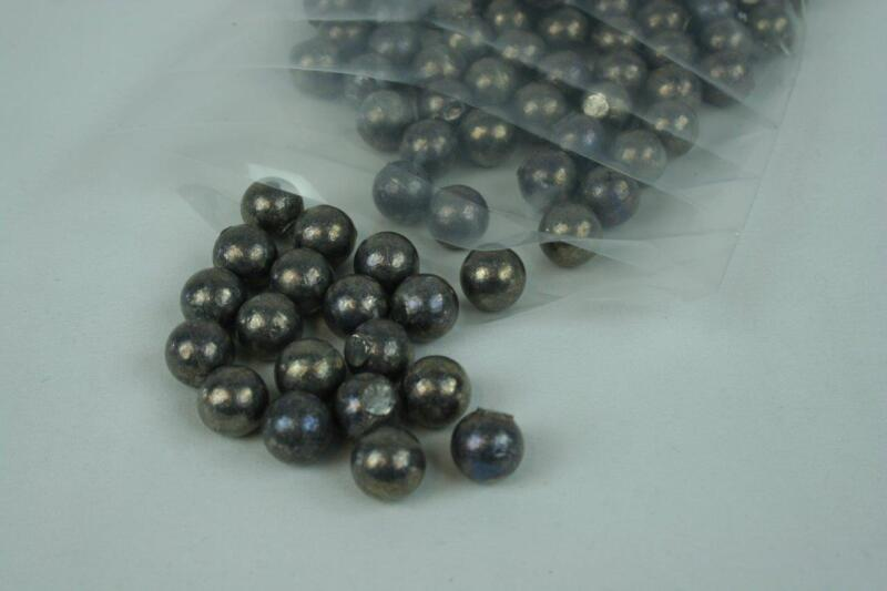 Cast Round Lead Varies Dia. From .300 to .735 great for Slingshot or Sinkers