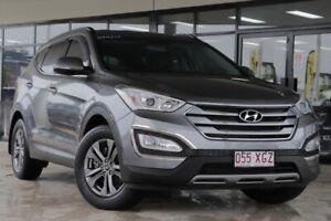 2014 Hyundai Santa Fe DM MY14 Active Graphite 6 Speed Sports Automatic Wagon