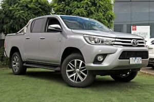 2016 Toyota Hilux Silver Sports Automatic Utility Hoppers Crossing Wyndham Area Preview