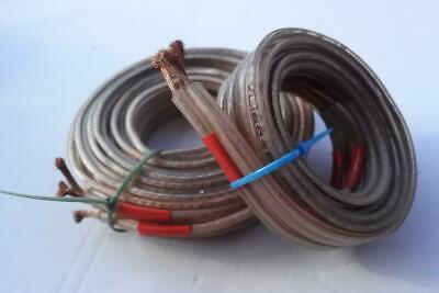 Used, GALE ELECTRONICS XL160-2,BI-WIRE SPEAKER CABLE-2.60&1.07 Meters-High Quality for sale  Shipping to Ireland