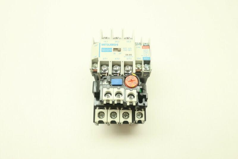 Mitsubishi SD-Q19 TH-N18KPDM Full Voltage Starter 24v-dc 10hp
