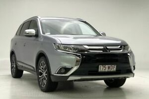 2015 Mitsubishi Outlander ZK MY16 XLS 4WD Silver 6 Speed Constant Variable Wagon