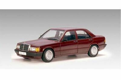 Mercedes 190E 2.0 Barolo Red 1/18 DIECAST MODEL CAR BY AUTOART 76135