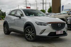 2015 Mazda CX-3 DK4WSA sTouring SKYACTIV-Drive i-ACTIV AWD Silver 6 Speed Sports Automatic Wagon