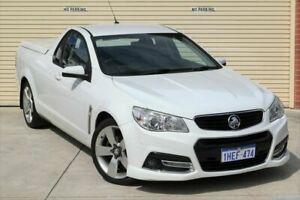 2014 Holden Ute VF MY14 SV6 Ute White 6 Speed Sports Automatic Utility Mount Lawley Stirling Area Preview