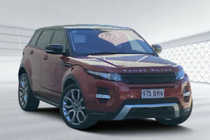 2012 Land Rover Range Rover Evoque LV SD4 Dynamic Red 6 Speed Automatic Wagon