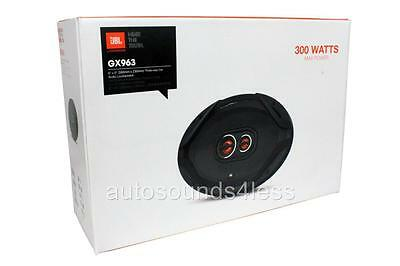 "New JBL GX963 300 Watt GX Series 6"" x 9"" 3-Way Coaxial Car Audio Speakers 6""x9"""
