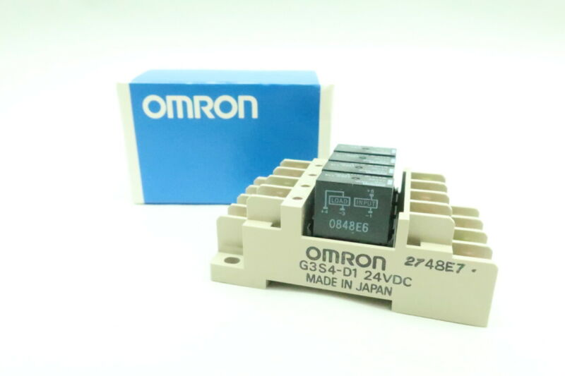 Omron G3S4-D1 Terminal 24v-dc