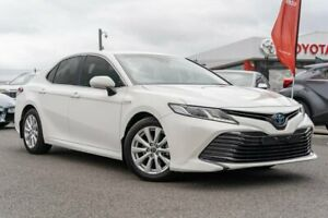 2018 Toyota Camry AXVH71R Ascent White 6 Speed Constant Variable Sedan Hybrid Dandenong Greater Dandenong Preview