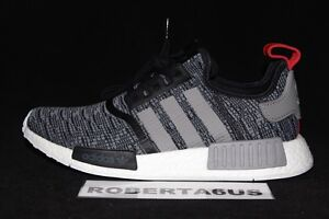 Adidas-NMD-Runner-R1-BB2884-Nomad-Grey-Glitch-Camo-Core-Black-Red-3M-Size-8-13