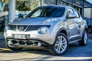 2013 Nissan Juke F15 MY14 ST 2WD Silver 1 Speed Constant Variable Hatchback