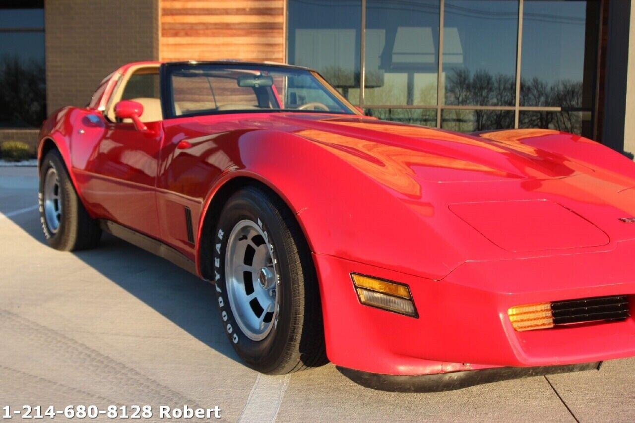 1981 Red Chevrolet Corvette Coupe  | C3 Corvette Photo 5
