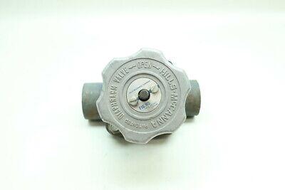 Hills Mccanna Fig 6 Manual Steel Socket Weld Diaphragm Valve 1in