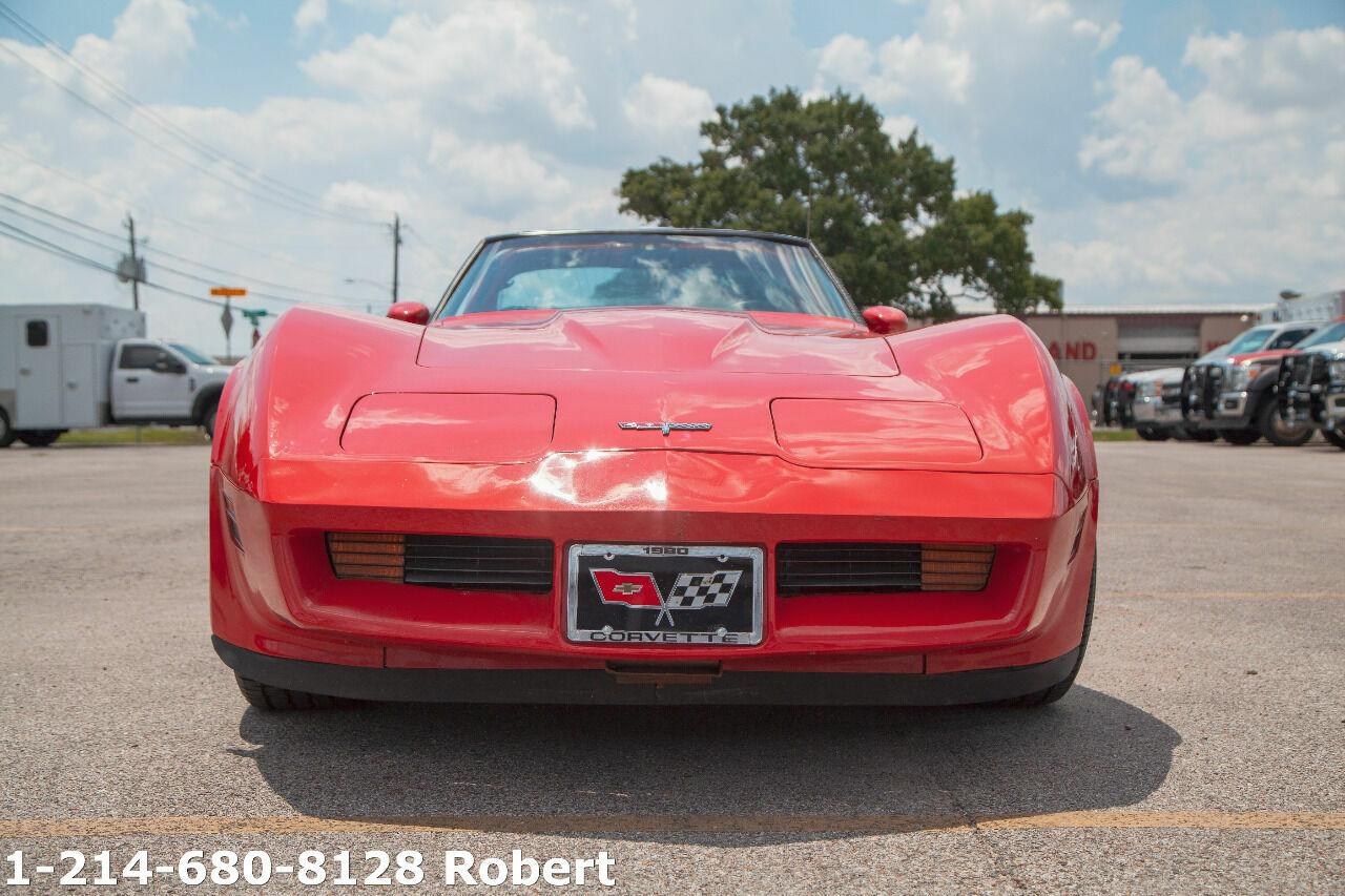1980 Red Chevrolet Corvette   | C3 Corvette Photo 4