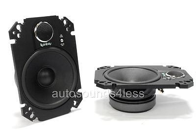 "Infinity KAPPA 462.11cfp 360 Watts 4"" x 6"" 2-Way Car Plate Speakers 4""x6"" New"