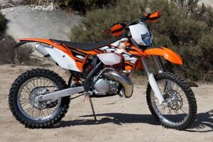 Looking for Ktm 250 xcw or 125 two stroke