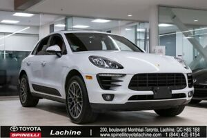 2016 Porsche Macan S IMPECCABLE! FULLY EQUIPPED! PANORAMIC SUNRO