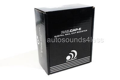Massive Audio RCE RAILCAP-E 4 Farad Capacitor For EDGE Series Amplifiers New