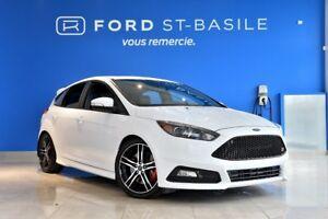 2016 Ford Focus ST TURBO + Propriétaire méticuleux ! WOW ! FOCUS