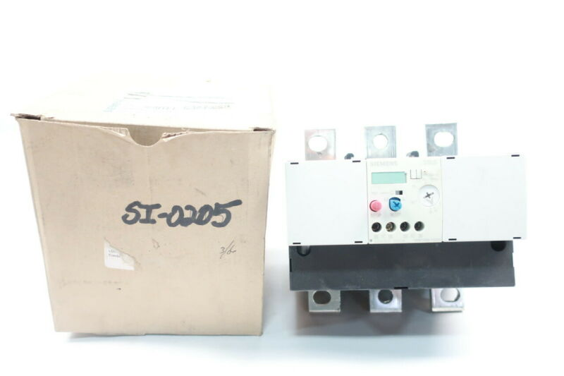 Siemens 3RB1066-1GG0 Overload Relay 55-250a