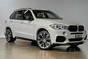 2015 BMW X5 F15 xDrive30d White 8 Speed Sports Automatic Wagon South Melbourne Port Phillip Preview