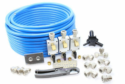 "Rapid Air Maxline 100' M3800 1/2"" Compressed Air Line Piping Tubing Shop System"