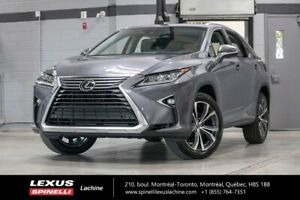 2018 Lexus RX 350 LUXE AWD; CUIR TOIT ANGLES MORTS GPS LSS+ $4,3