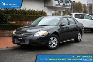 2013 Chevrolet Impala LS AM/FM Radio, CD player, A/C