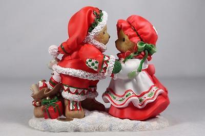 Cherished Teddies 'DeWaine & Sharon' 22nd Annual Santa 2016 Dated #4053455 NIB