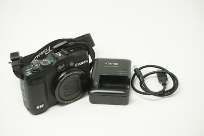Canon PowerShot G16 12.1MP CMOS Digital Camera Very Good Used Black B0628