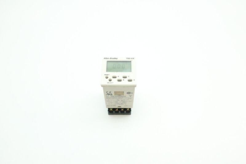 Allen Bradley 700-HX86SU24 Digital Timing Relay 24v-ac/dc Ser A