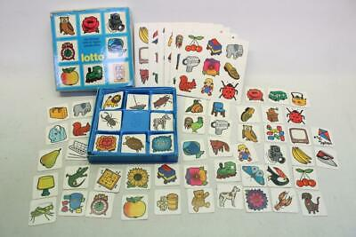 Vintage F X SCHMID Lotto Game Childrens Game J7